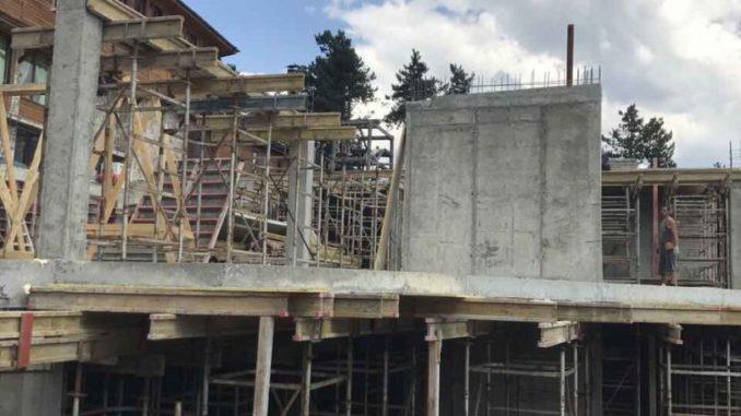 строителство с бетон