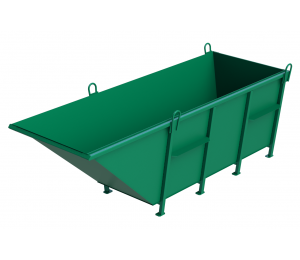 контейнер-зелен