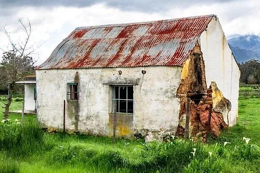 събаряне на къща